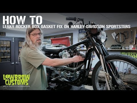 how to leaky rocker box gasket fix on harley davidson Rocker Box Harley Davidson Evo Engine Diagram harley davidson chrome evo rocker box