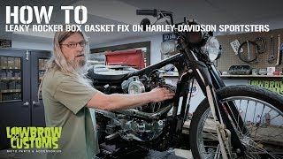 How-To: Leaky Rocker Box Gasket Fix on Harley-Davidson Sportster