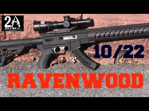 ravenwood ati ar22 stock for the 10 22 step by step diy install