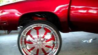 "AceWhips.NET- Oldsmobile Cutlass on 28"" dub presidential floaters- Kandyland Customs"