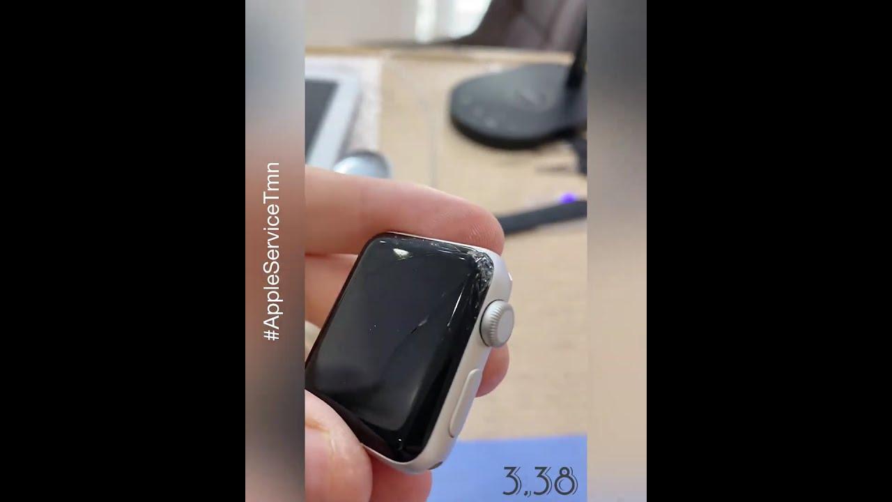 Заменить Стекло Apple Watch 3,38mm в Тюмени