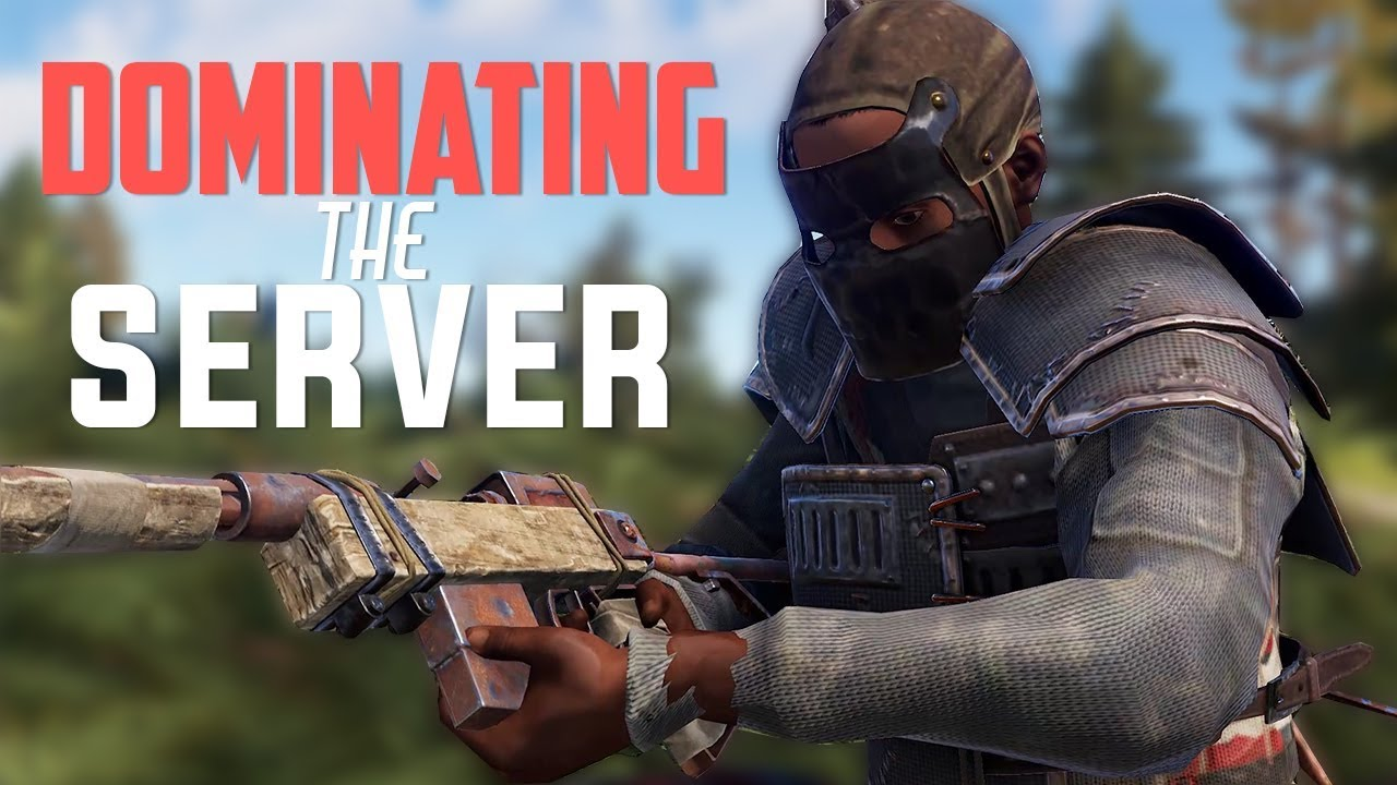 Rust - DOMINATING THE SERVER (Rust Solo Survival) [PART 3/3]