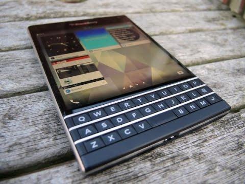 BlackBerry Passport OS 10 3 Review