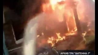 В Большеречье во время пожара в частном доме погибли четыре человека