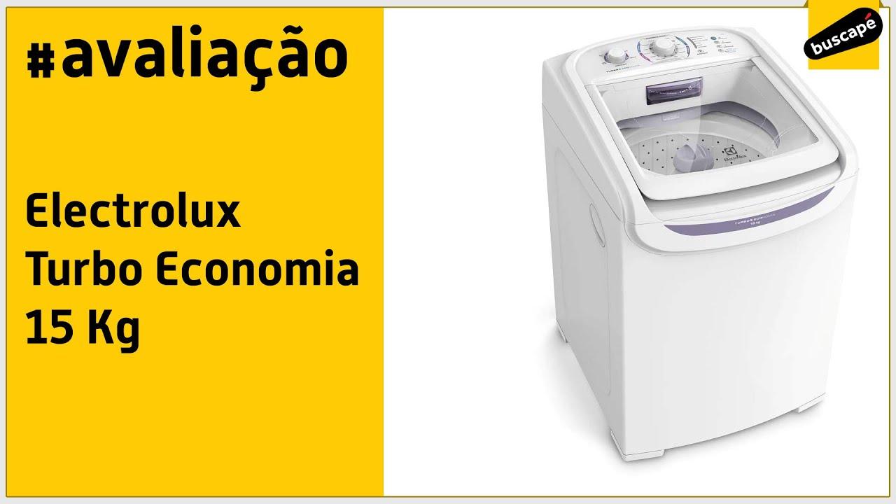 aa138b9499 Electrolux Turbo Economia 15 kg (LTD15) - Avaliação - YouTube
