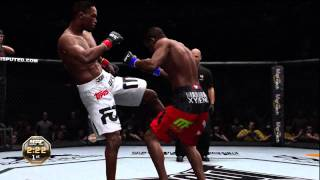UFC Undisputed 3:: Demo Gameplay:: Jon Jones vs Jon Jones::-: Thumbnail