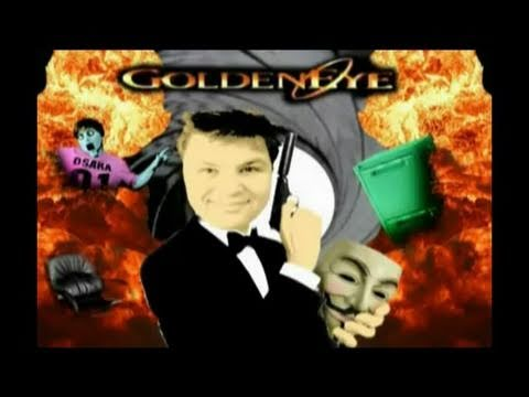 Guru Larry's Retro Corner - GoldenEye 007 (Nintendo 64)   Guy Fawkes Special
