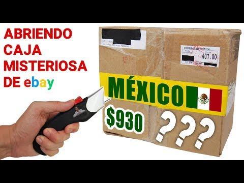 Abriendo Caja Misteriosa de Ebay de MEXICO de $930 📦❓ | Caja Sorpresa