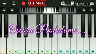 Ovvoru Pookalume Solkirathey - Autograph |piano tutorial