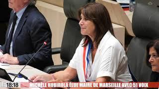 Michèle Rubirola, la candidate du Printemps marseillais, élue maire de Marseille