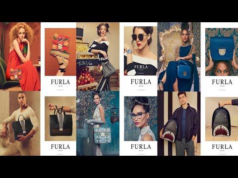 Carla Ciffoni, Jessica Strother, Lily Nova, Wen Shiwei, FURLA SS 2018 Advertising Campaign