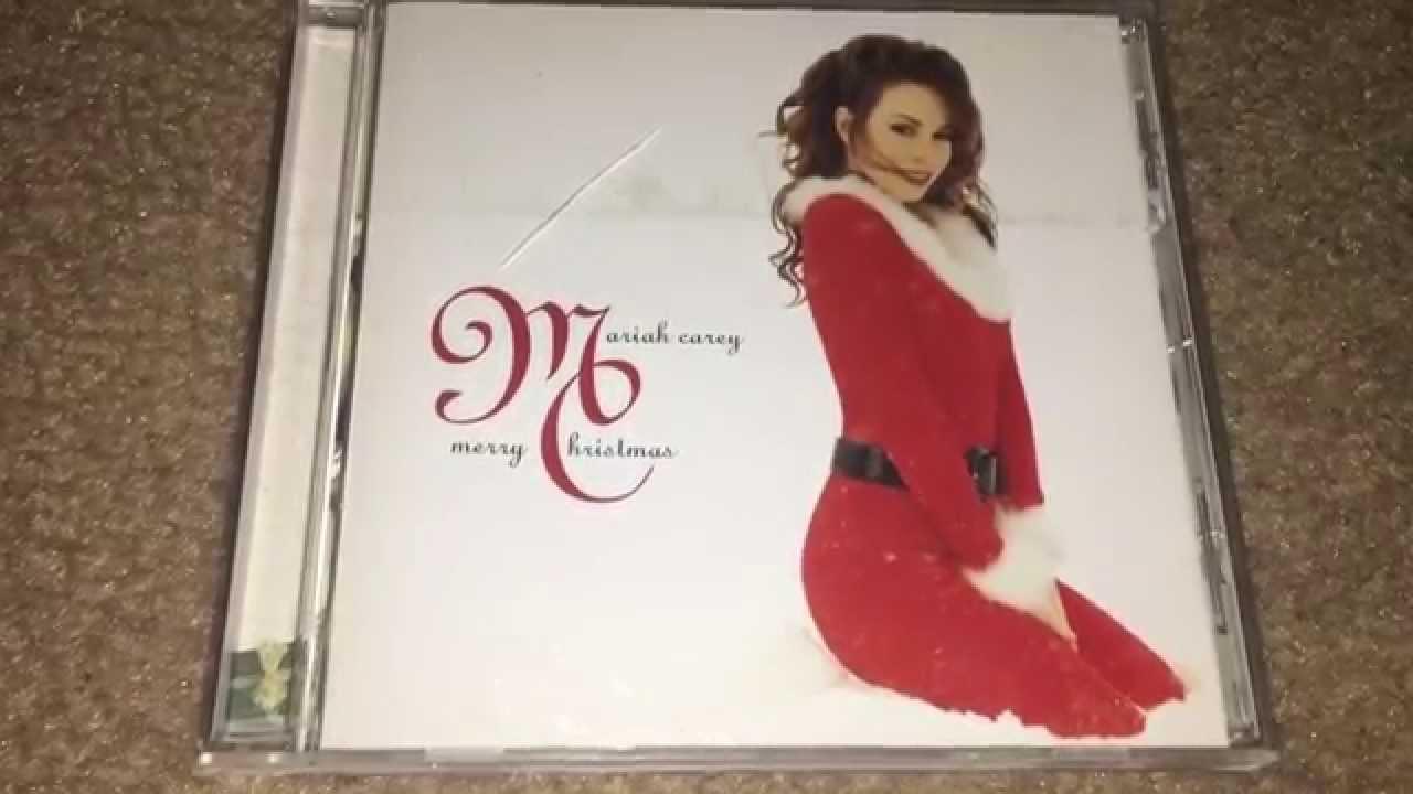 Unboxing Mariah Carey ... Mariah Carey Merry Christmas Youtube