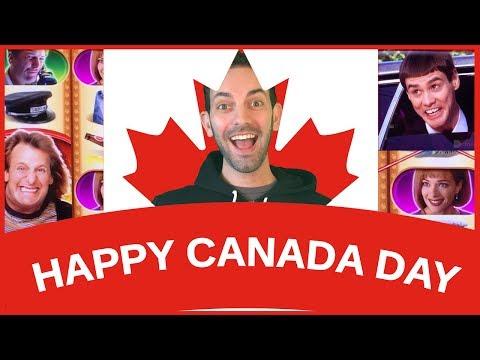 🇨🇦  Happy 150th Canada with Jim Carrey! ✦ SPINNING 🎡 SATURDAYS ✦ Slot Machine Pokies HD