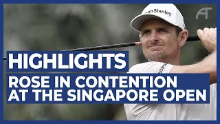Rose in Contention at The SMBC Singapore Open | Round 2 Highlights 2020