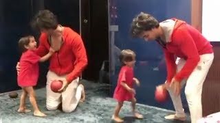 Salman Khan's Nephew Ahil CUTE VIDEO PLAYING With Doting Father Aayush Sharma