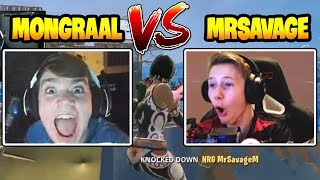 Mongraal | Destroyed MrSavageM by AIM ASSIST PC in Fortnite!