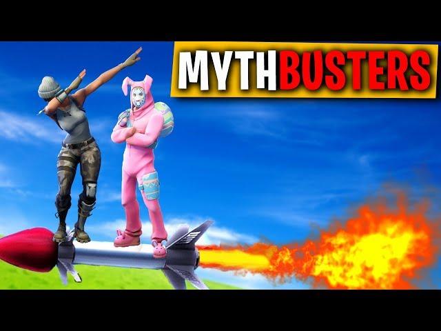 SI PUÒ CAVALCARE UN RAZZO IN 2?! - FORTNITE MYTHBUSTERS #2