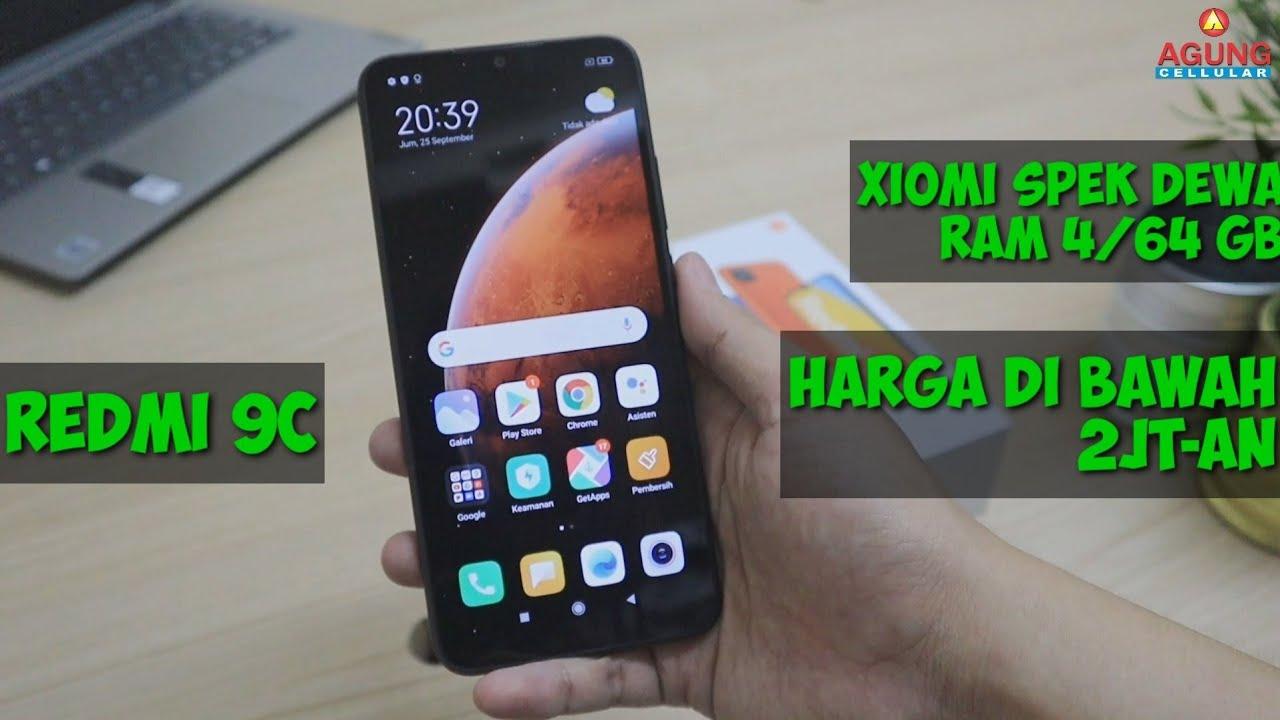 Unboxing Redmi 9c | Android di Bawah 2jt-an Ram Besar 4/64GB