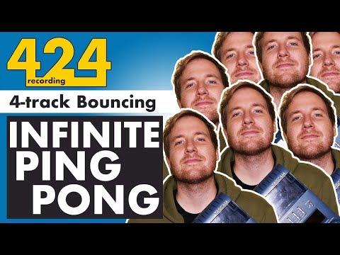 Download 4-TRACK BOUNCING TECHNIQUES: Infinite Ping Pong Recording | 424recording.com