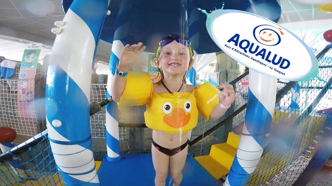 Vlog 100 Fun Dans Le Plus Grand Parc Aquatique Du Nord