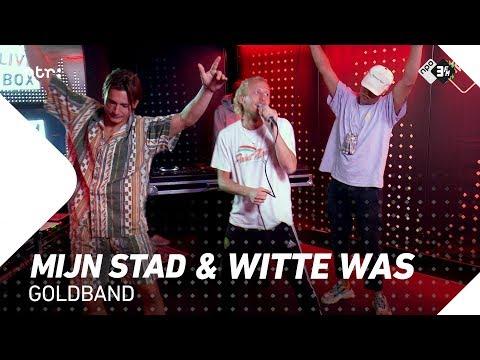 Goldband - 'Mijn Stad' & 'Witte Was' | Live bij Vera On Track | 3FM
