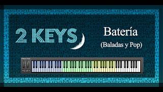 2 Keys Bateria Baladas y Pop Funciones y Tutorial en Kontakt
