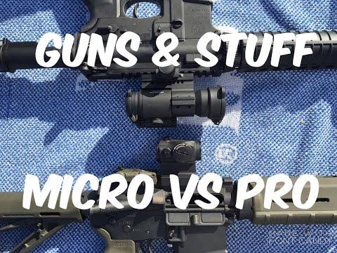 Aimpoint PRO vs Micro series