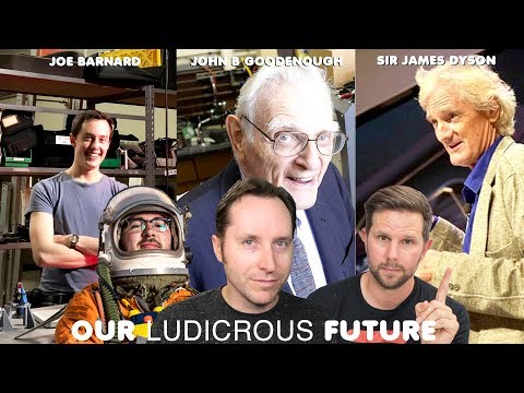 Tim And Joe Barnard, Goodenough For Nobel, Dyson Ditches EVs - Ep 55