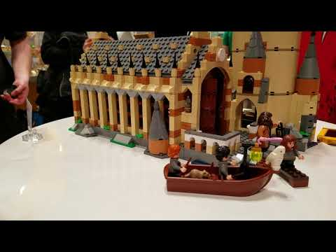 Harry Potter Hogwarts Great Hall from LEGO