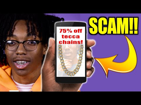 Lil Tecca's New Drop Shipping Website is a SCAM!