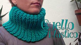 Cuello Elástico a crochet