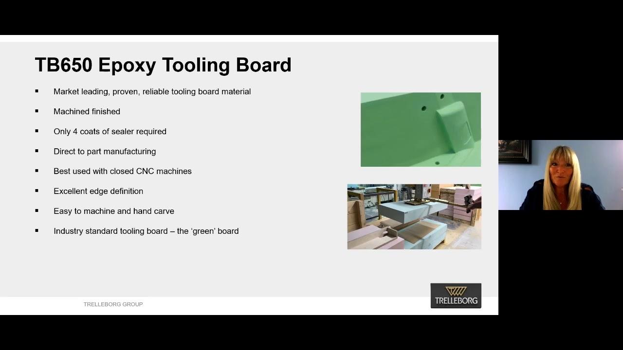 Trelleborg - TB650 Epoxy Tooling Board