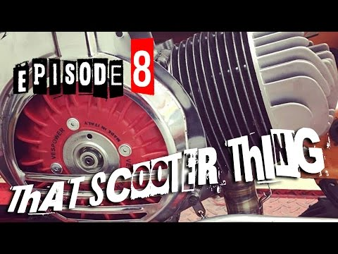 That Scooter Thing Episode 8 - Vespa / Stella / LML Star 150 Polini 177 to 187 full build