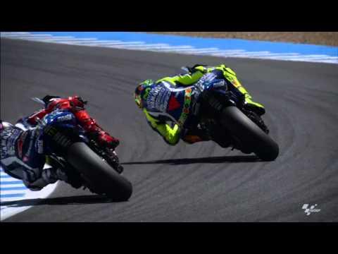 2016 Spanish GP - Yamaha in action