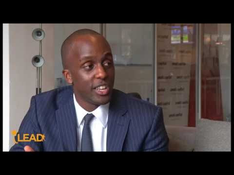 iLEAD AFRICA with Ivan Mbowa on entrepreneurship and the startup culture in Africa
