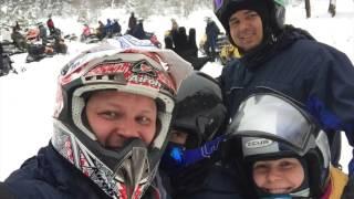 Тур на арендованных снегоходах. Шемахинская пещера