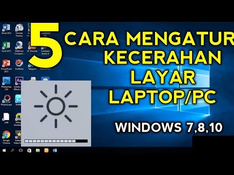 Cara Mengaktifkan / Menonaktifkan Adaptive Brightness di Windows 10.