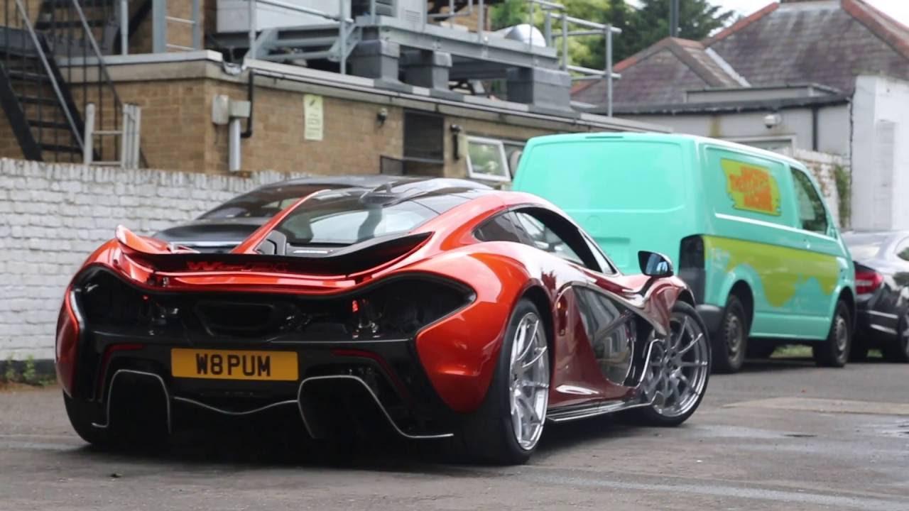 Lamborghini 3d Live Wallpaper Crazy Mclaren P1 Gets Customised Youtube