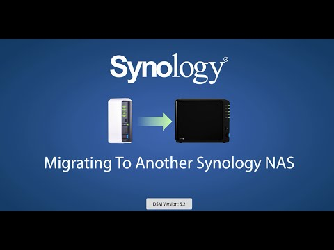 Synology | Migrating To Another Synology NAS