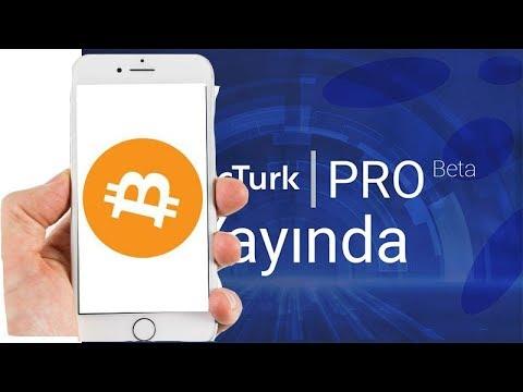 Btctürk Pro Mobil Uygulama - Al-Sat Transfer Çekme