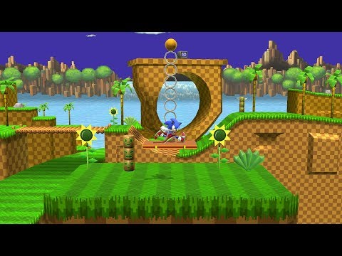 Green Hill Zone (Project M Port) v7 - Smash 4 Mod Showcase