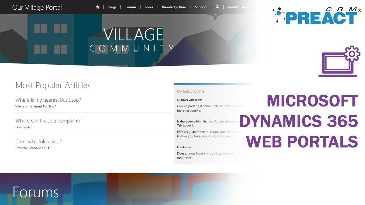 How to Get Started with Dynamics 365 Web Portals