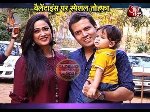 Shweta Tiwari's SPECIAL FAMILY VALENTINES!