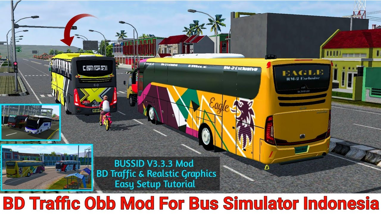 Bussid Obb V3 3 3 New Mod With Bd Traffic And Realstic Graphics Bus Simulator Indonesia Latest Obb Youtube
