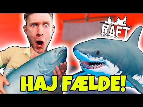 HAJ MAD FÆLDE! - Dansk Raft Multiplayer #3
