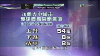 TVB Pearl Putonghua Financial Report