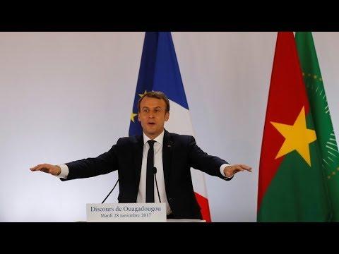 Macron publicly