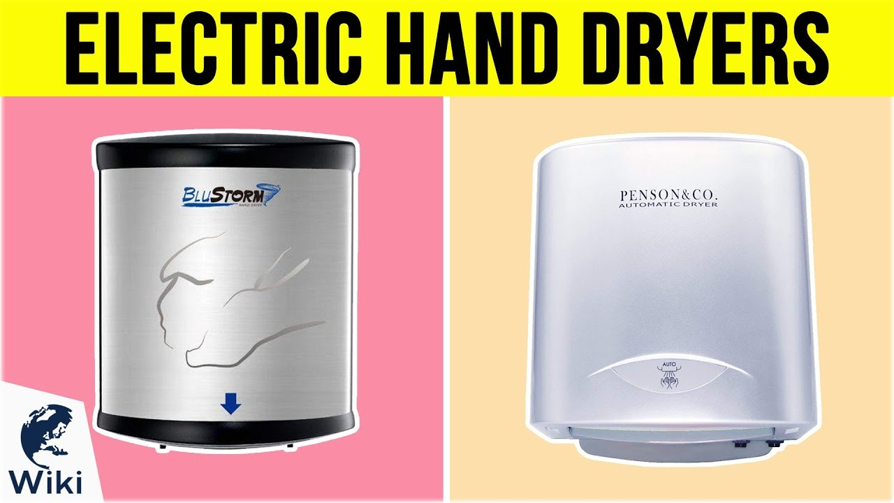 Best Electric Dryers 2019 10 Best Electric Hand Dryers 2019   YouTube
