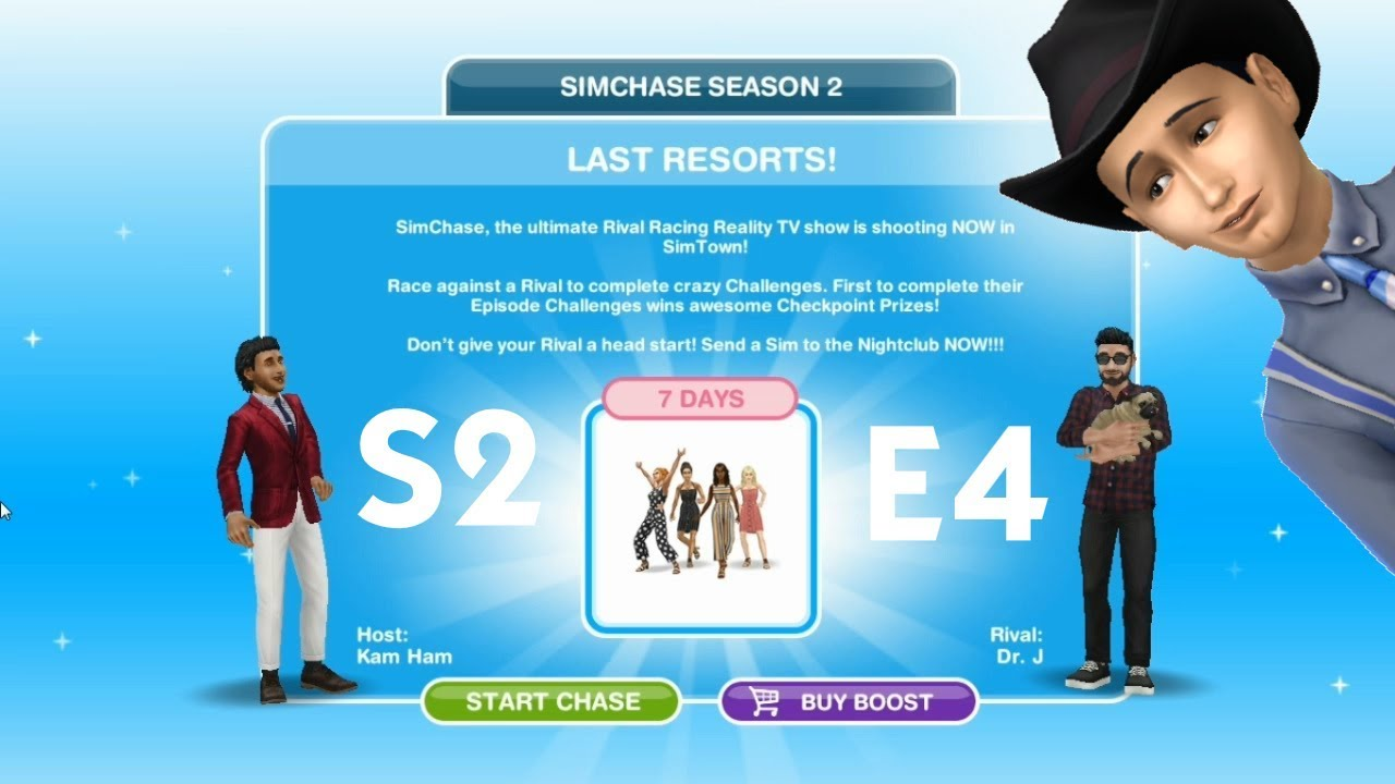 The sims freeplay simchace season 2 Episode 4