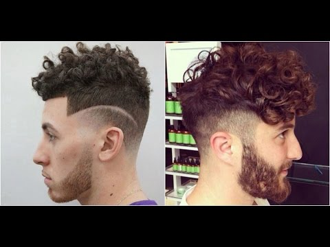 Top 10 Curly Hairstyles For Men 2017 2019 | Hairstyles For Curly/Wavy Hair  2018   YouTube